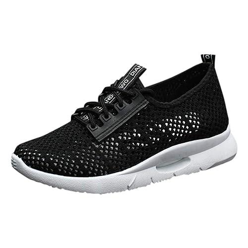 Amazon.com: Creazrise - Zapatillas para mujer con plataforma ...
