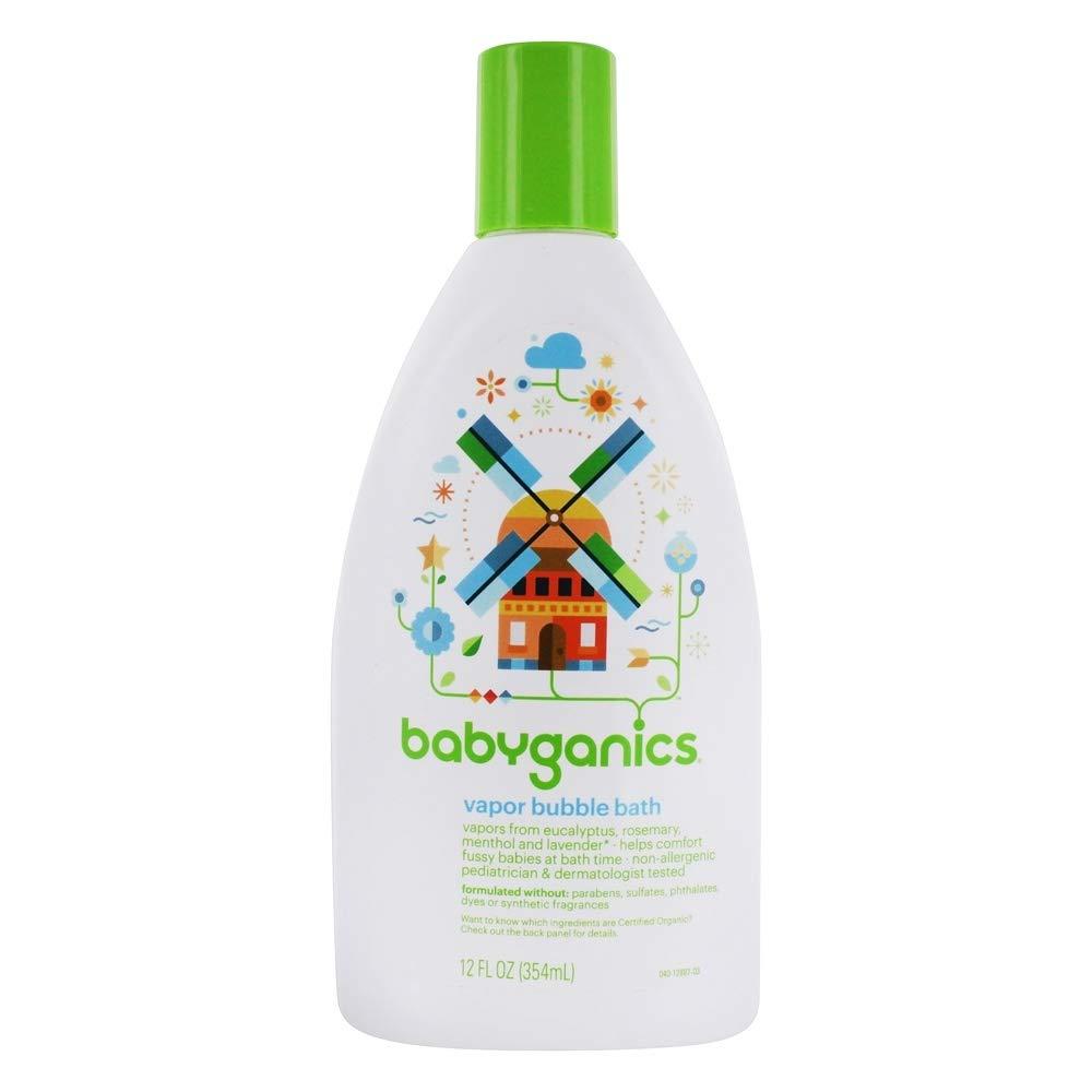 Babyganics Vapor Bubble Bath Bundle - 3 Items: 12 Oz Bottles by Babyganics