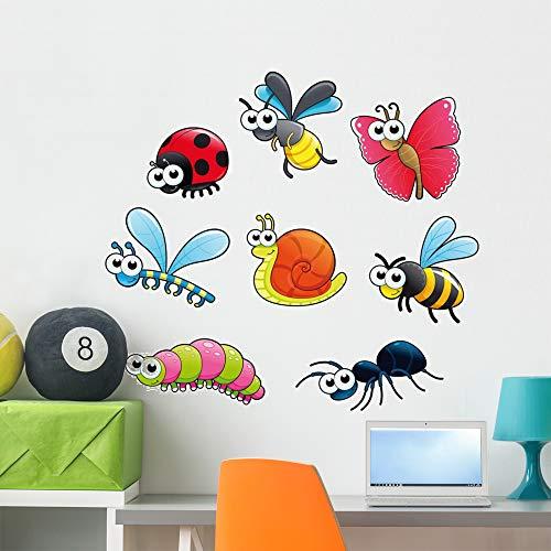 - Wallmonkeys Bugs 1 Snail Wall Mural Peel and Stick Vinyl Graphic (36 in W x 33 in H) WM525824