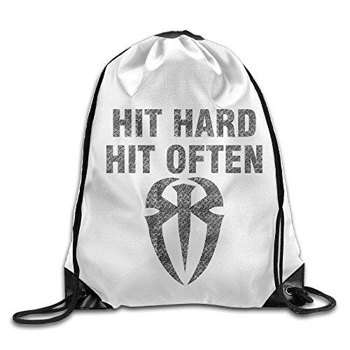 MaNeg Roman Reigns Gym Drawstring Backpack&Travel Bag (Ferragamo Backpack)