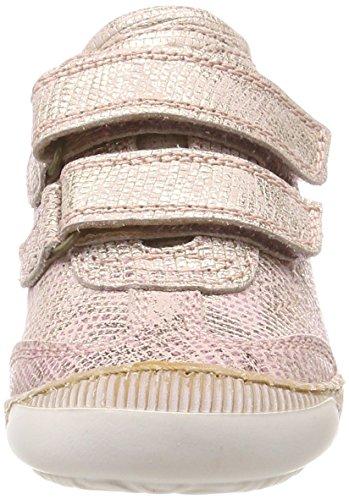 Bisgaard Mädchen Klettschuhe Sneaker Pink (Rose)