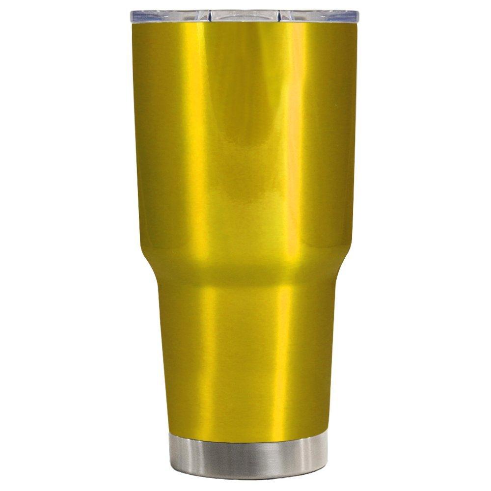 5dc546391c3 Amazon.com | TREK Psycho Yellow 30 oz Stainless Steel Tumbler Cup: Tumblers  & Water Glasses