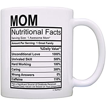 Amazon.com: Mothers Day Gifts for Mom Nutritional Facts