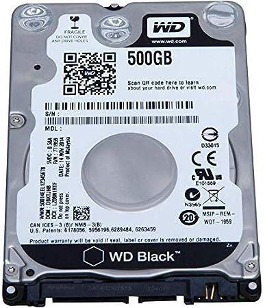 Oemgenuine WDC 500GB 2 5? HDD SATA 7200RPM Internal Laptop