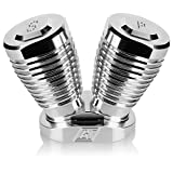 V Twin Salt and Pepper Shakers Billet Stuff Made in U.S.A.