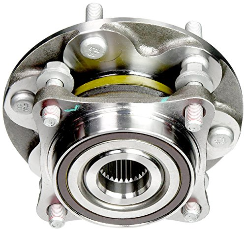 APDTY 515040 Wheel Hub Bearing Complete Bolt On Assembly w/Studs Fits 4WD or AWD Front Left or Right 2010-2015 Lexus GX460 2003-2009 GX470 2003-2015 4Runner 2007-2014 FJ Cruiser 2005-2015 Tacoma