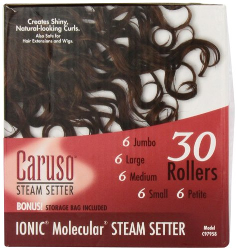 Caruso Professional IONIC Molecular 30-Piece Multiple Size Steam Hair Setter by Caruso (Image #3)