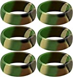 SayitBands Six of New Camo Silicone Ring Size 11