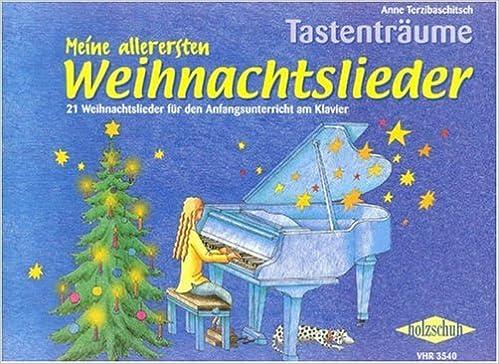 Weihnachtslieder Für Keyboard Kostenlos.Meine Allerersten Weihnachtslieder Klavier Amazon De Anne