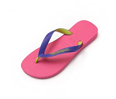 40b6b8102098d Havaianas Top Mix Pop Rose Pink Purple Strap Flip Flops Thongs Unisex Size  Brazil Beach  Amazon.co.uk  Shoes   Bags