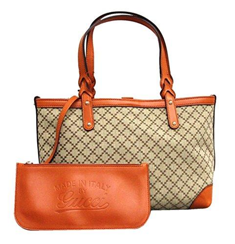 Gucci-Craft-Beige-Canvas-Handbag-with-Orange-Leather-Trim-269878-9711