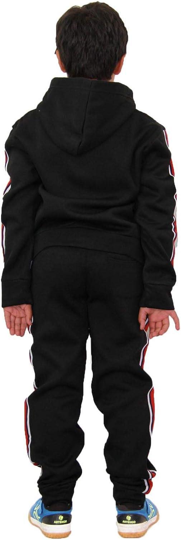T.S Plain Charcoal 11-12.1 A2Z 4 Kids/® Bambini Ragazze Ragazzi Plain Tuta
