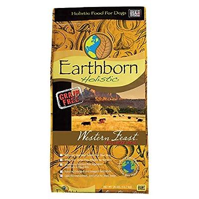 Earthborn Holistic Western Feast Grain Free Dog Food, 28 lb