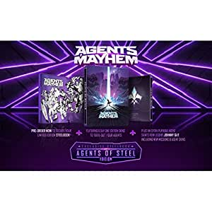 Agents Of Mayhem Day One Steelbook Edition PS4 Game