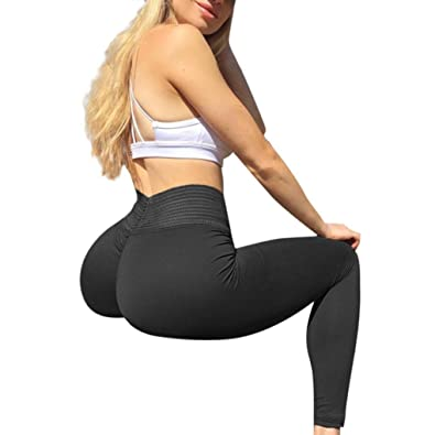 d81b8749c8 Amazon.com: Goodtrade8® High Waist Yoga Pants Women Tummy Control Workout  Running Yoga Leggings Solid Sports Activewear Capris Green: Shoes
