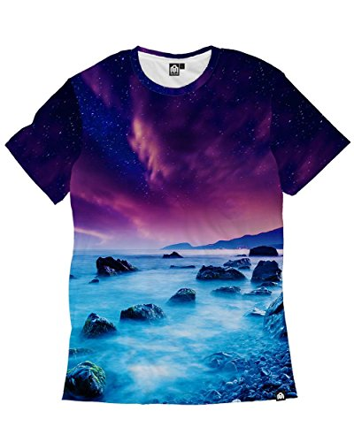 INTO THE AM Midnight Mist Premium All Over Print Tee (Small)