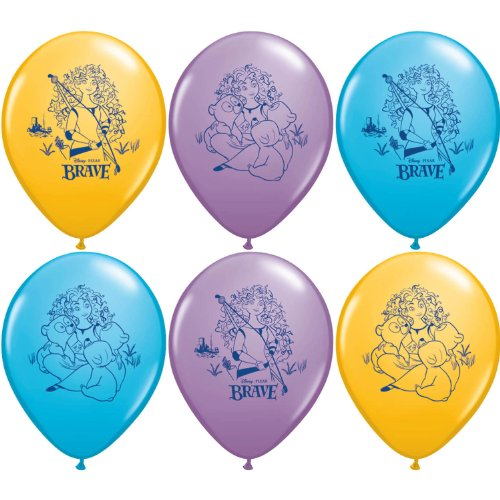 Disneys Brave Party Supplies Helium Latex Balloons (Costumes Express Canada)