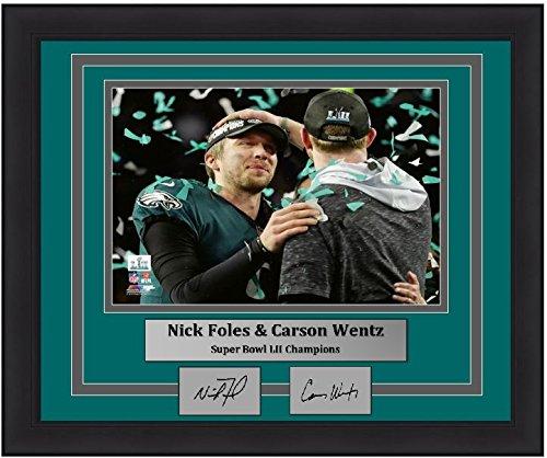 (Eagles Super Bowl 52 Nick Foles & Carson Wentz 8