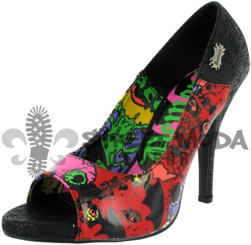 Demonia ZOMBIE-10 Blk Turtle Pu Size UK 5 EU 38