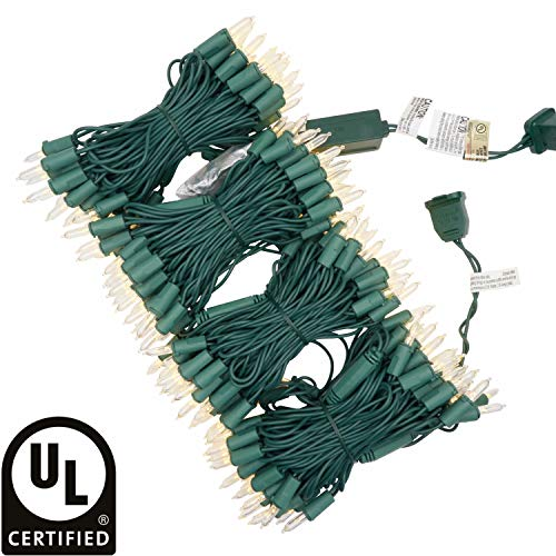Green Led Christmas Light Strings
