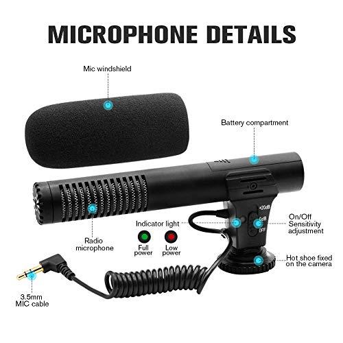 Buy external microphone for dslr