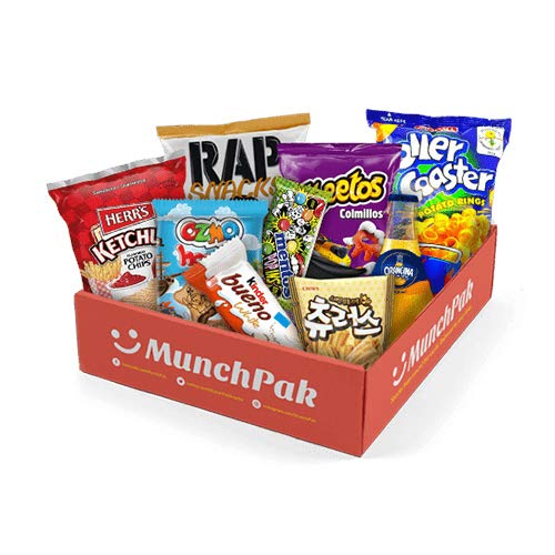 Snack Box from around the world - Care Package (10 Count) (Snack Subscription Box From Around The World)