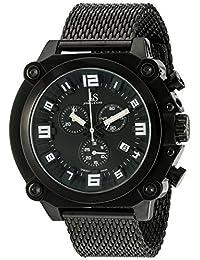 Joshua & Sons Men's JS58BK Analog Display Swiss Quartz Black Watch