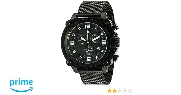 Con 50 Reloj Suizo Cuarzo Movimiento Mm Js58bk Joshuaamp; Sons Man 4A3RjLqS5c