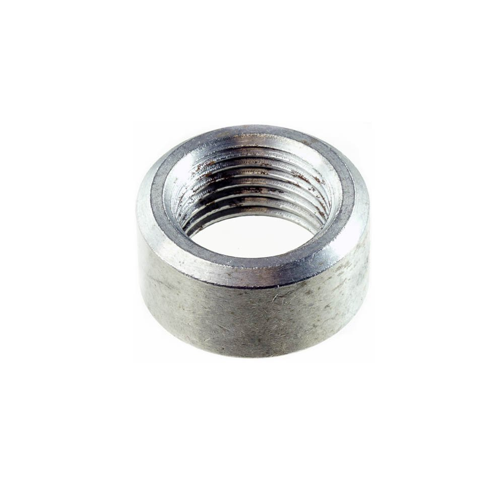 Lipped - 8 Bungs, with Plug CarXX Universal Fit M18x1.5 O2 Oxygen Sensor Mild Steel Weld Bung