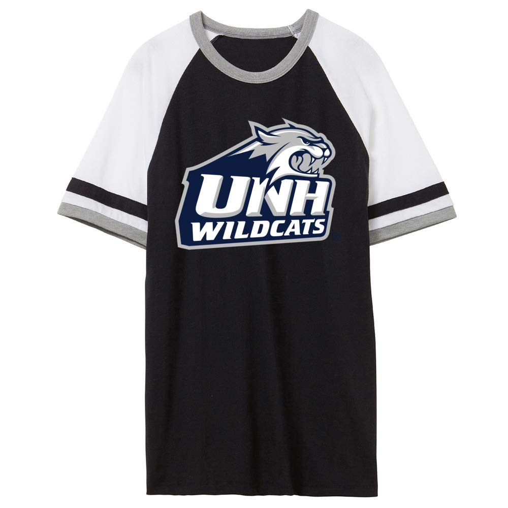 NCAA New Hampshire Wildcats PPNHM02 Unisex Slapshot Vintage Jersey T-Shirt