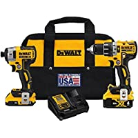 Dewalt Dck287D1M1 20V Combo Kit Key Pieces