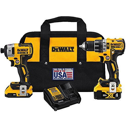 DEWALT DCK287D1M1 20V Combo (Usa Drill Kit)