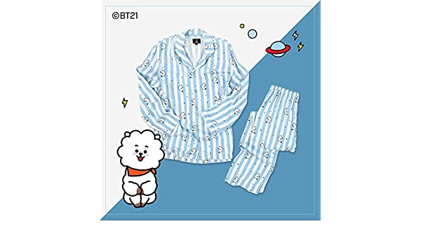 BT21 X Hunt Innerwear Collarboration Pajamas (L, RJ): Amazon.es: Ropa y accesorios