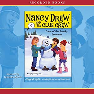 The Case of the Sneaky Snowman Audiobook