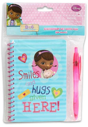 60 Sheet Disney Doc Mc Stuffins Journal w/Pen 48 pcs sku# 1859040MA by Disney
