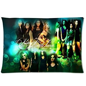 Butuku Custom Soft-home Decoration TV Show Pretty Little Liars Rectangle Pillow Case 20x30 Inchs (one side)