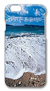 ACESR Luxury iPhone 6 Cases, Beach Waves PC Hard Case Cover for Apple iPhone 6 (4.7 INCH) - 3D Design iPhone 6 Case by runtopwell