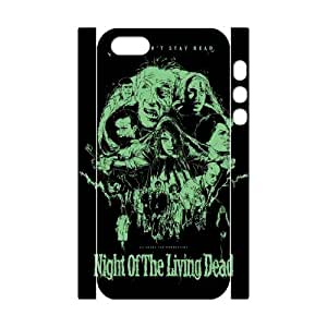 ANCASE Custom Color Printing Night of the Living Dead 2 Phone 3D Case For iPhone 5,5S [Pattern-3]