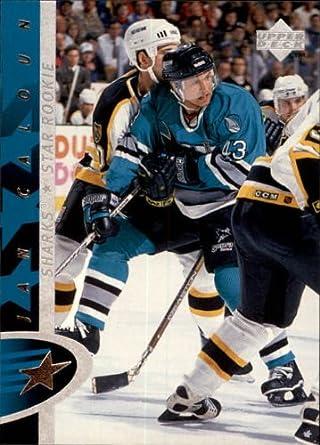 Fan Shop Jan Caloun Hockey Card 1996-97 Upper Deck #195 Jan Caloun Sports Souvenirs