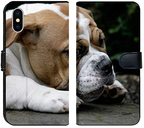 - Apple iPhone Xs MAX Flip Fabric Wallet Case Image ID: 7835879 Continental Bulldog Puppy