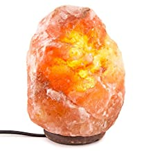 Inviting Homes® Himalayan Natural Salt Lamp On Wooden Base with Bulb and Cord - Small Salt Lamp
