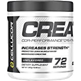 Cellucor Micronized Creatine Monohydrate Powder, COR-Performance Series, Unflavored, 72 Servings