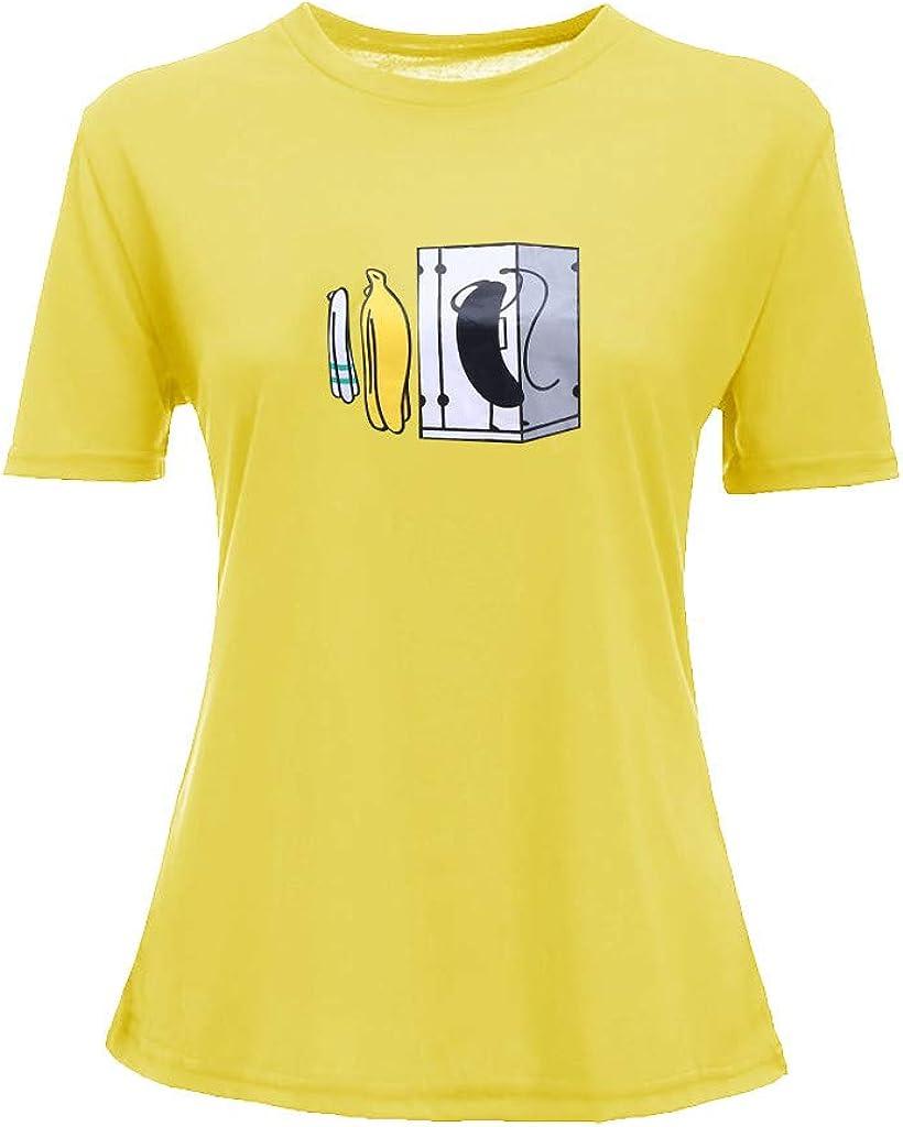 Tosonse Camiseta para Mujer Tops Frescos Blusa Tanques Camisas ...