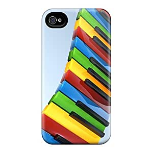HTC One M7 Premium Cases Covers Piano Abstract Protective Cases