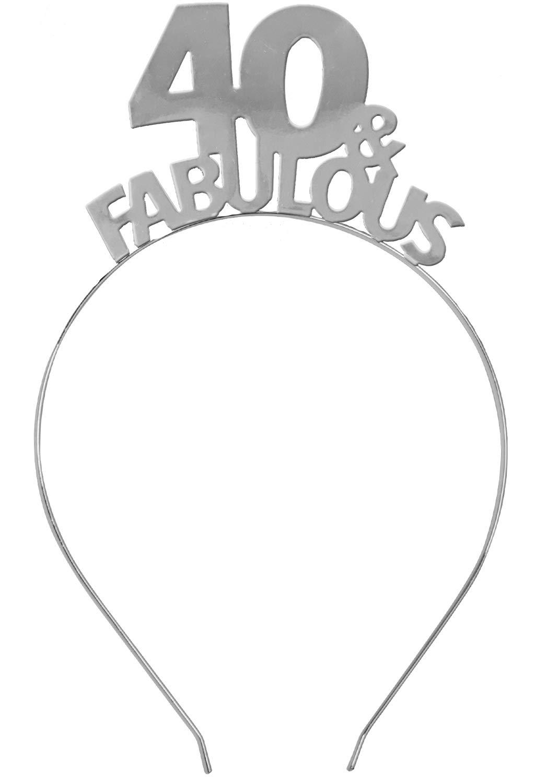 40 Fabulous Silver Headband...