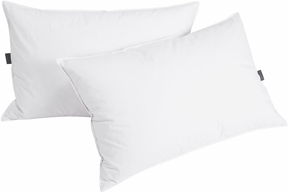 Puredown Down  Feather Pillows For Sleeping, Set of 2, King