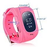 Jenix Kids GPS tracker Wrist Smart Watch with both side calling ,SOS , GPS + A GPS + LBS and GSM based,Pedometer,Geo Fence,Lost Alarm,(Anti lost),Real time live tracking over mobile app JXGP50