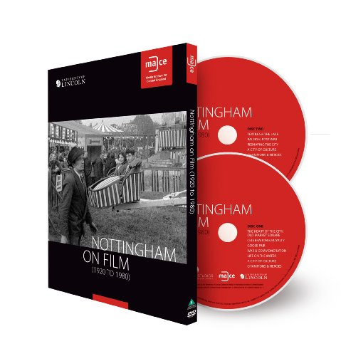 Nottingham on Film 1920 to 1980 DVD case