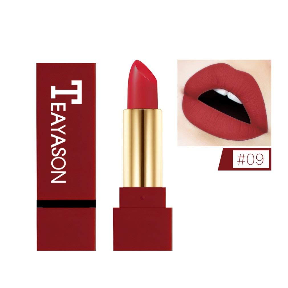 Matte Lipstick Cream Non Stick Cup Lip Glaze Makeup Tools Multicolor 9