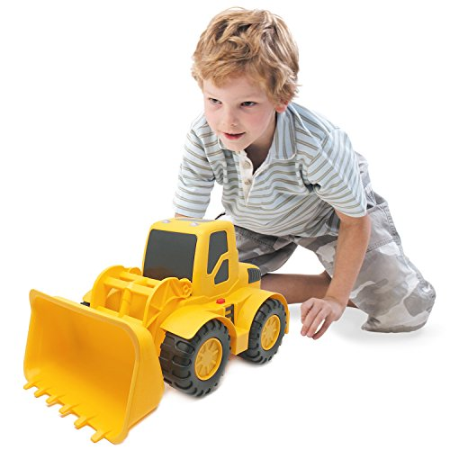 r Construction Vehicle - 18-inch Button-Activated Light & Sound Construction Toys, Perfect Truck Toy for Toddler Boys (Toy Construction Truck)